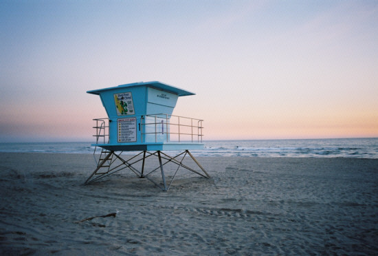HB Lifeguard Tower