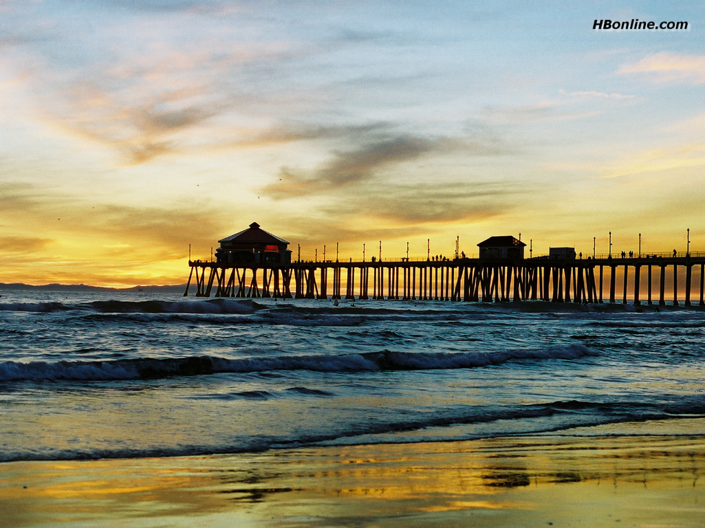 huntington beach desktop wallpaper